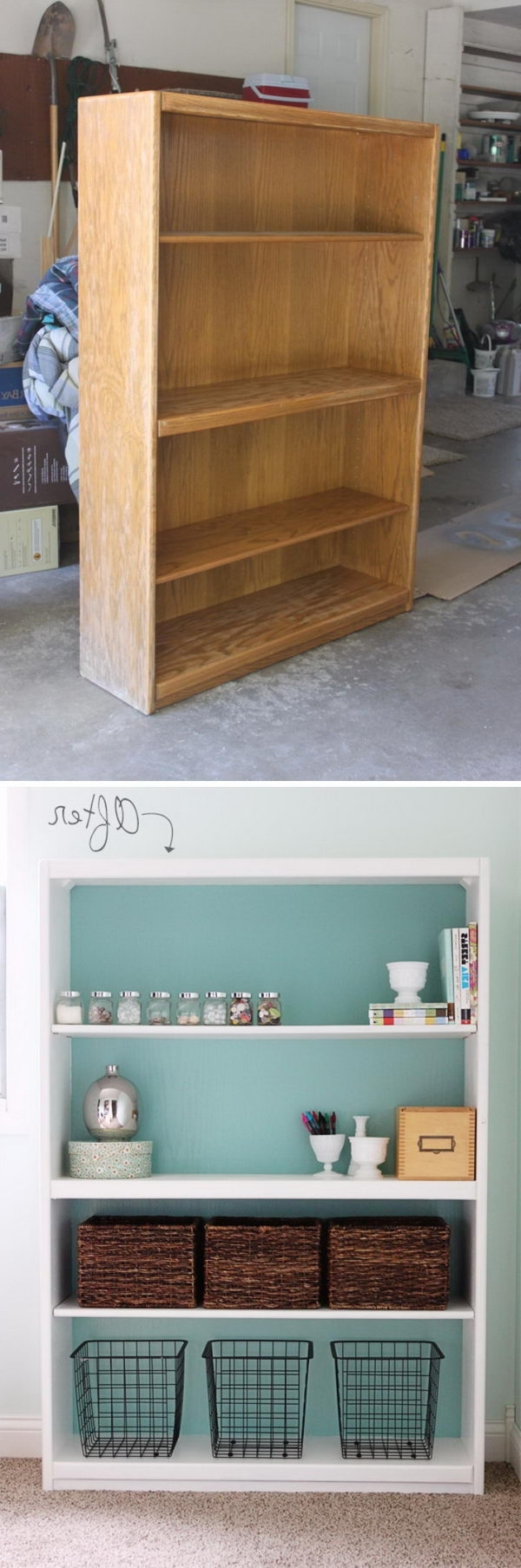 Repurpose Bookcases Throughout Most Popular Amazing Diy Ideas To Transform Your Old Furniture – Hative (View 4 of 15)