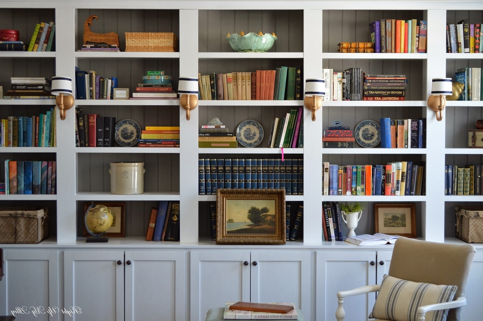 Right Up My Alley: How We Built Our Library Bookshelves Regarding 2018 Library Wall Bookshelves (View 4 of 15)