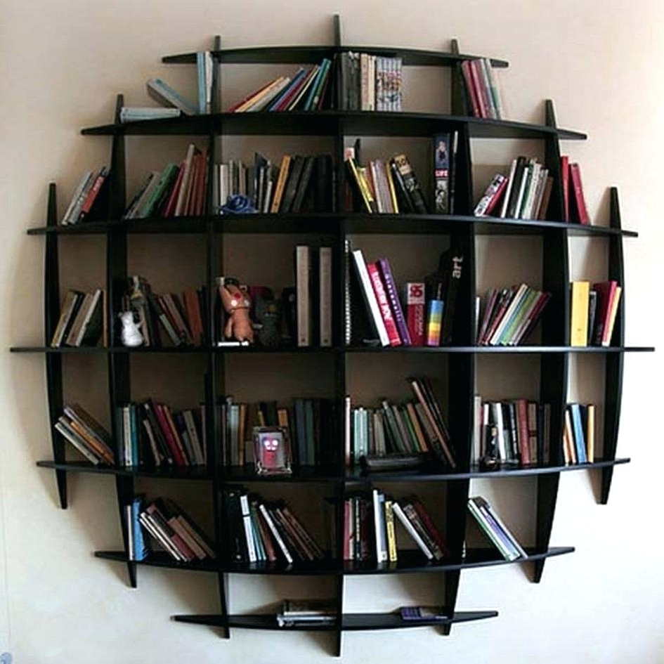 Round Bookcase Target Bookcases With Doors Bookcase With Doors Diy In Widely Used Round Bookcases (View 8 of 15)