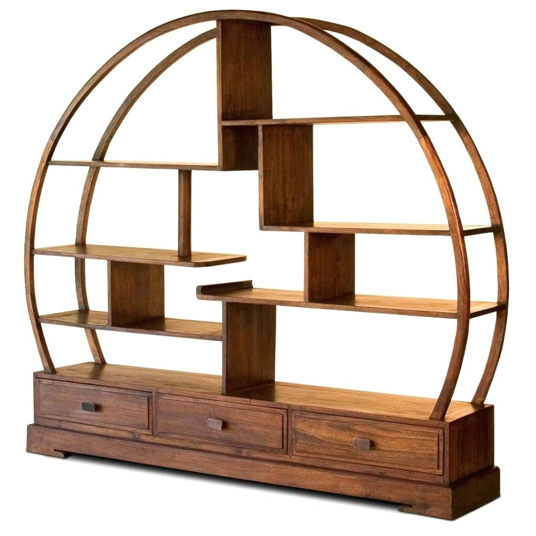Round Bookcases With Regard To Most Recent Round Bookcase Bookcases Target Bookcases For Sale Near Me (View 10 of 15)