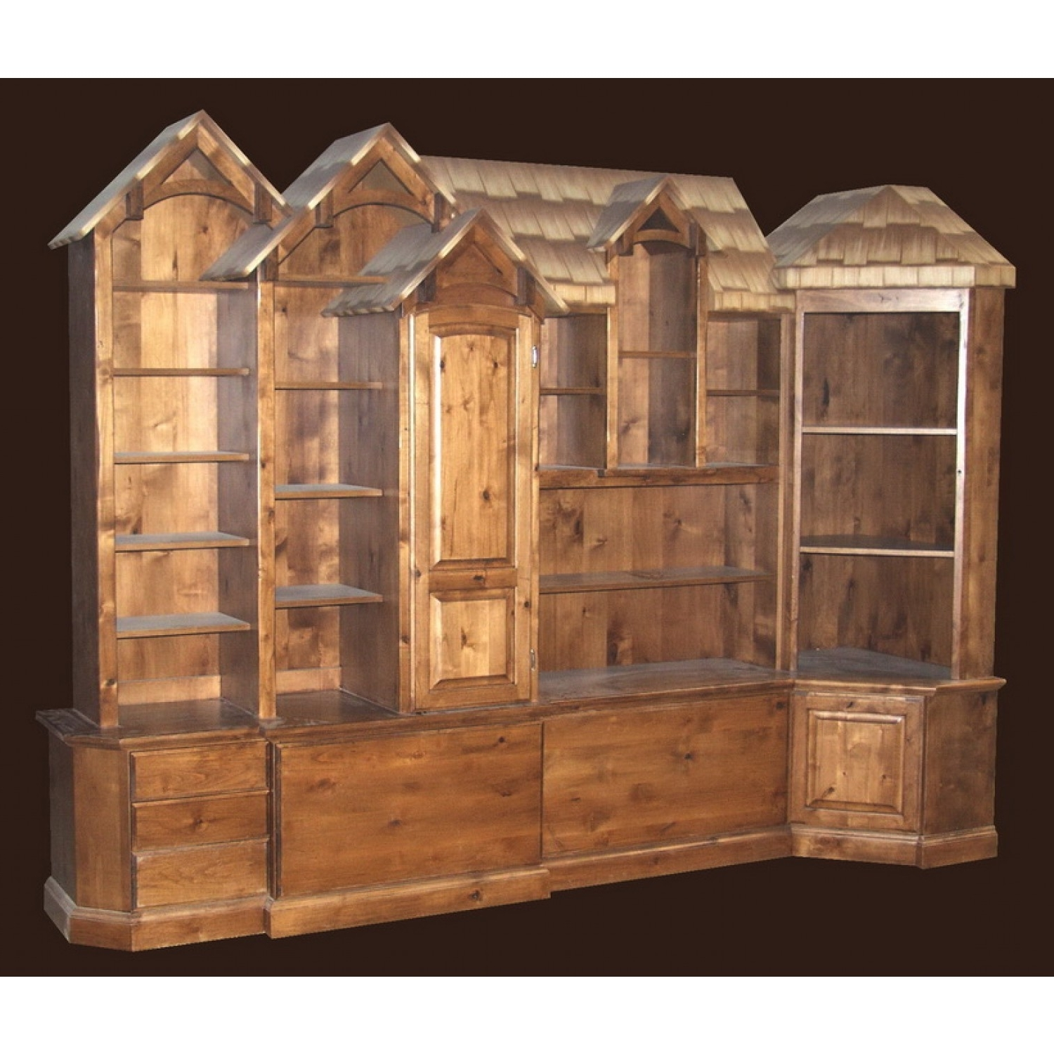Rustic Bookcases With Most Up To Date Rustic Bookshelf (View 15 of 15)