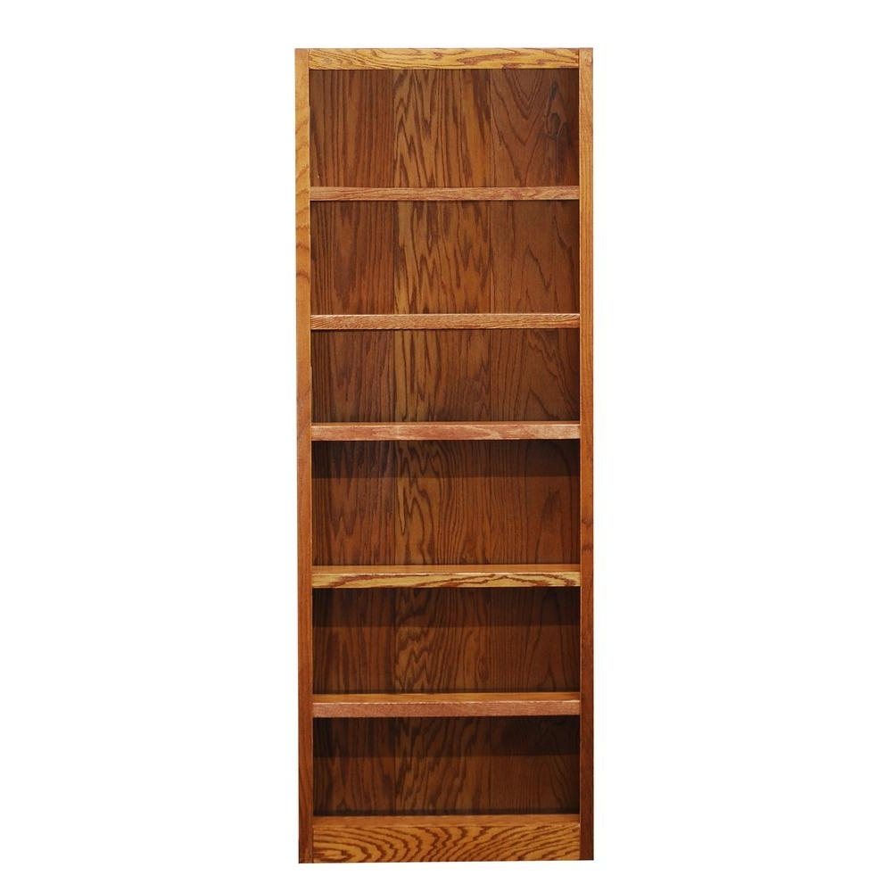 Sauder Barrister Lane Salt Oak Open Bookcase 414108 – The Home Depot Inside Best And Newest Office Depot Bookcases (View 7 of 15)