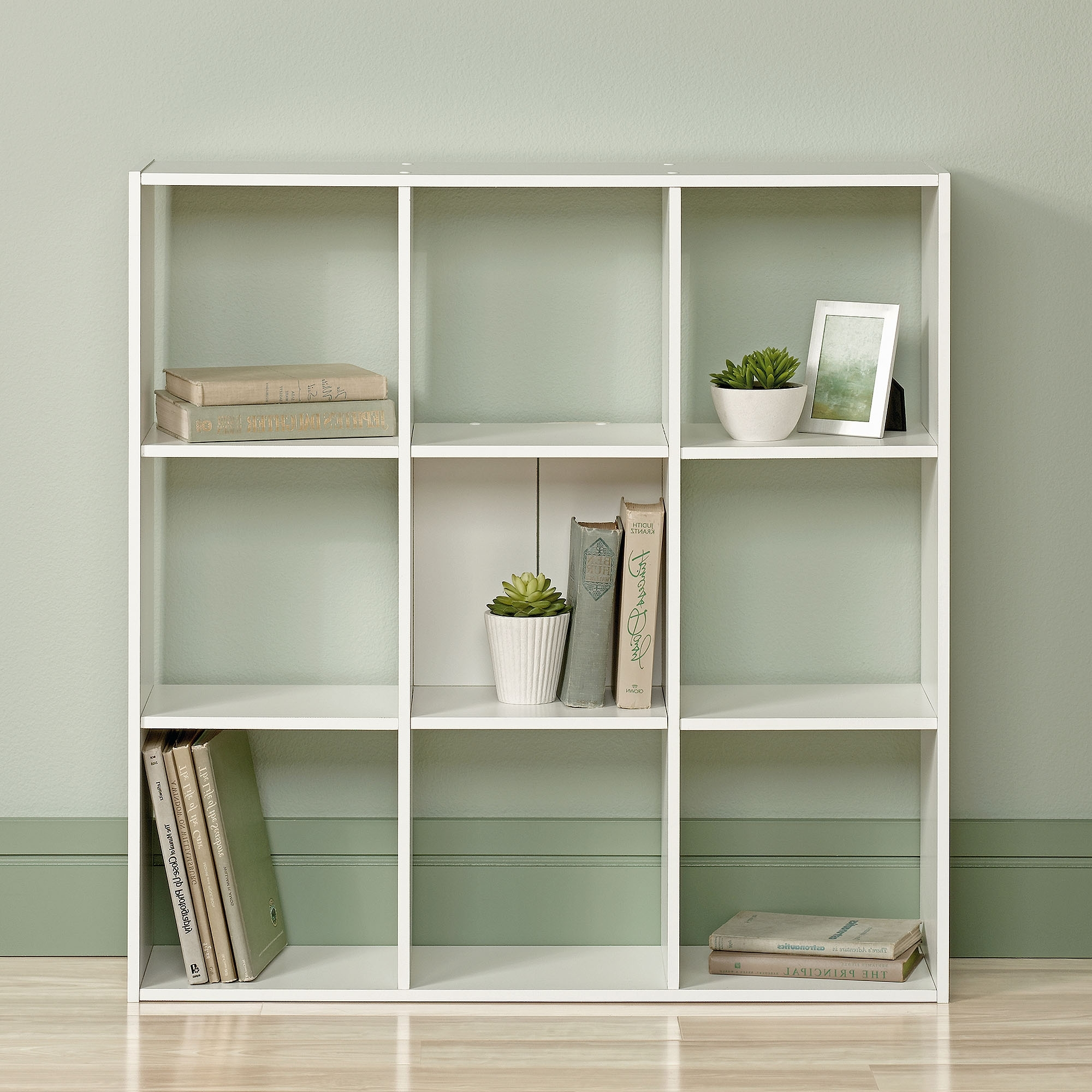 Sauder Organizer Bookcase, Soft White – Walmart Inside Current White Walmart Bookcases (View 9 of 15)