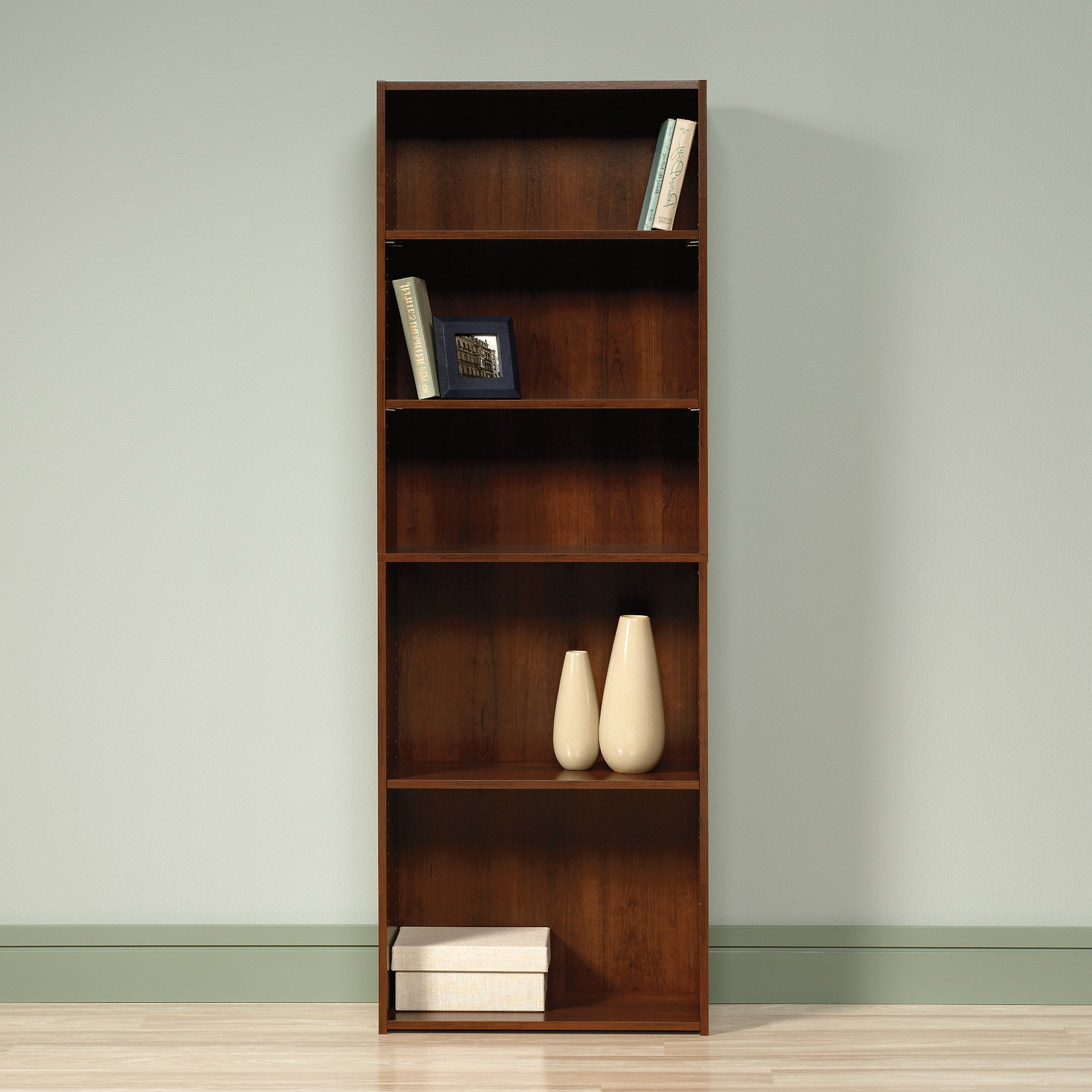 Sauder Regarding Sauder 5 Shelf Bookcases (View 11 of 15)