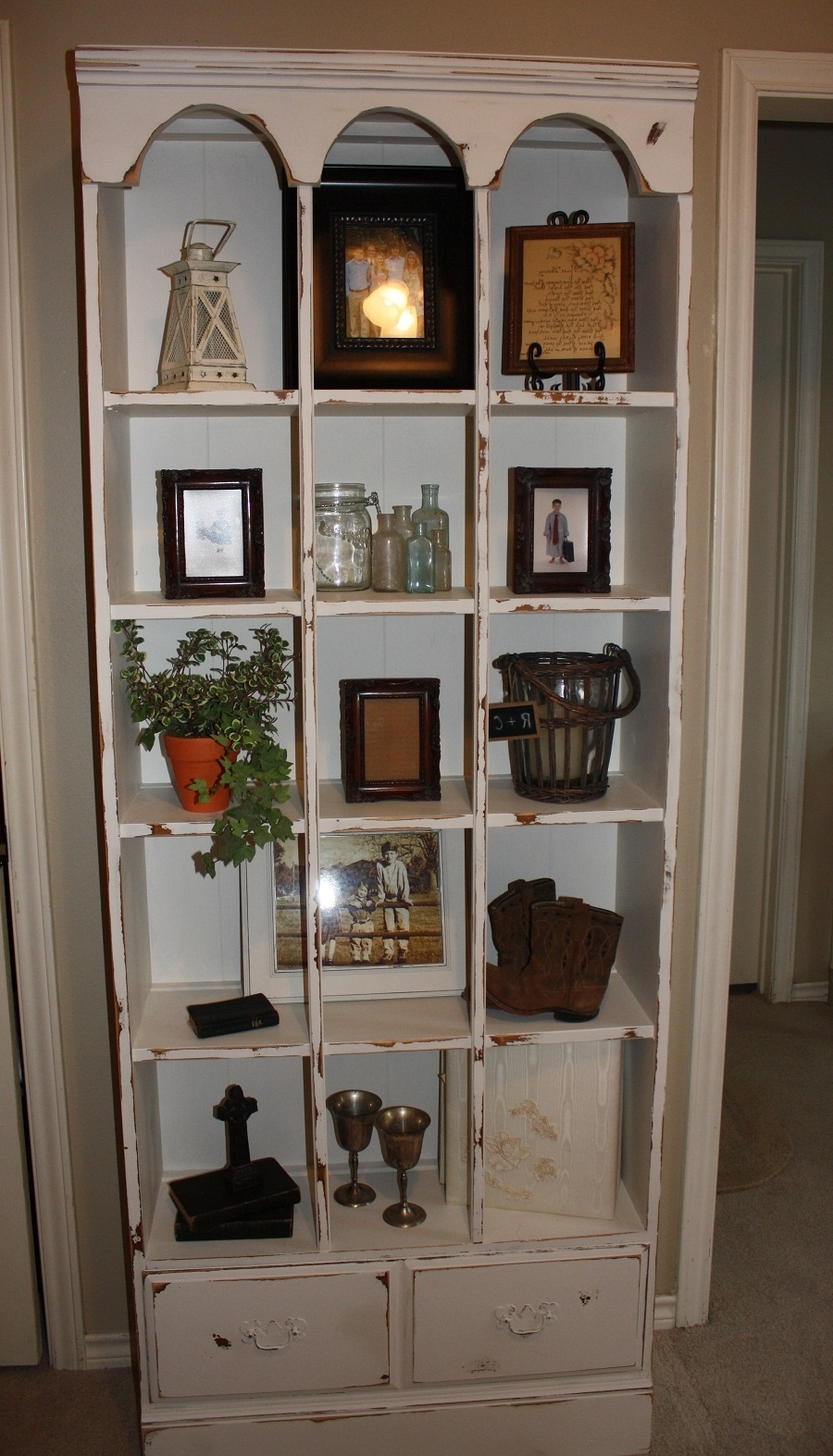 Shabby Chic Bookcases In Most Recent Shabby Chic Bookcase Paint : Doherty House – Popularity Of Luxury (View 10 of 15)
