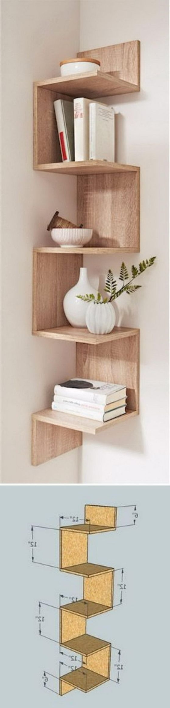 Shelf Ideas, Box Shelves (View 12 of 15)