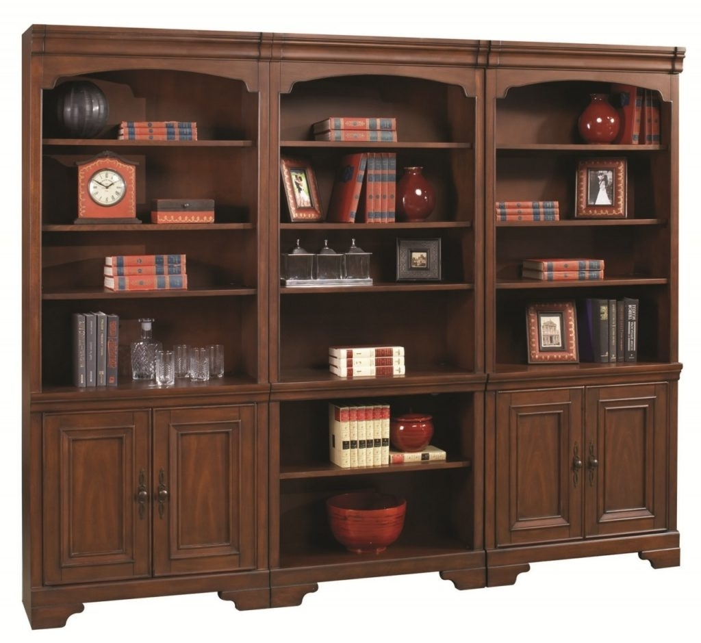 Shelf Wood Bookcase Cinnamon Cherry Finish Sears Outlet Bookshelf Throughout Best And Newest Sears Bookcases (View 14 of 15)