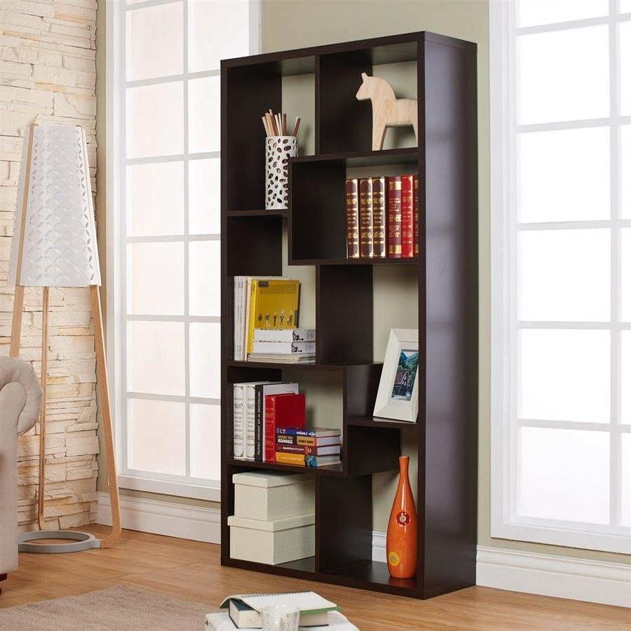 Shop Bookcases At Lowes Within Current 8 Inch Deep Bookcases (View 7 of 15)