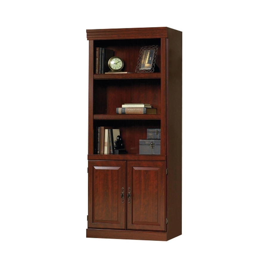 Shop Sauder Heritage Hill Classic Cherry 3 Shelf Bookcase At Lowes Within Famous Cherry Bookcases (View 14 of 15)