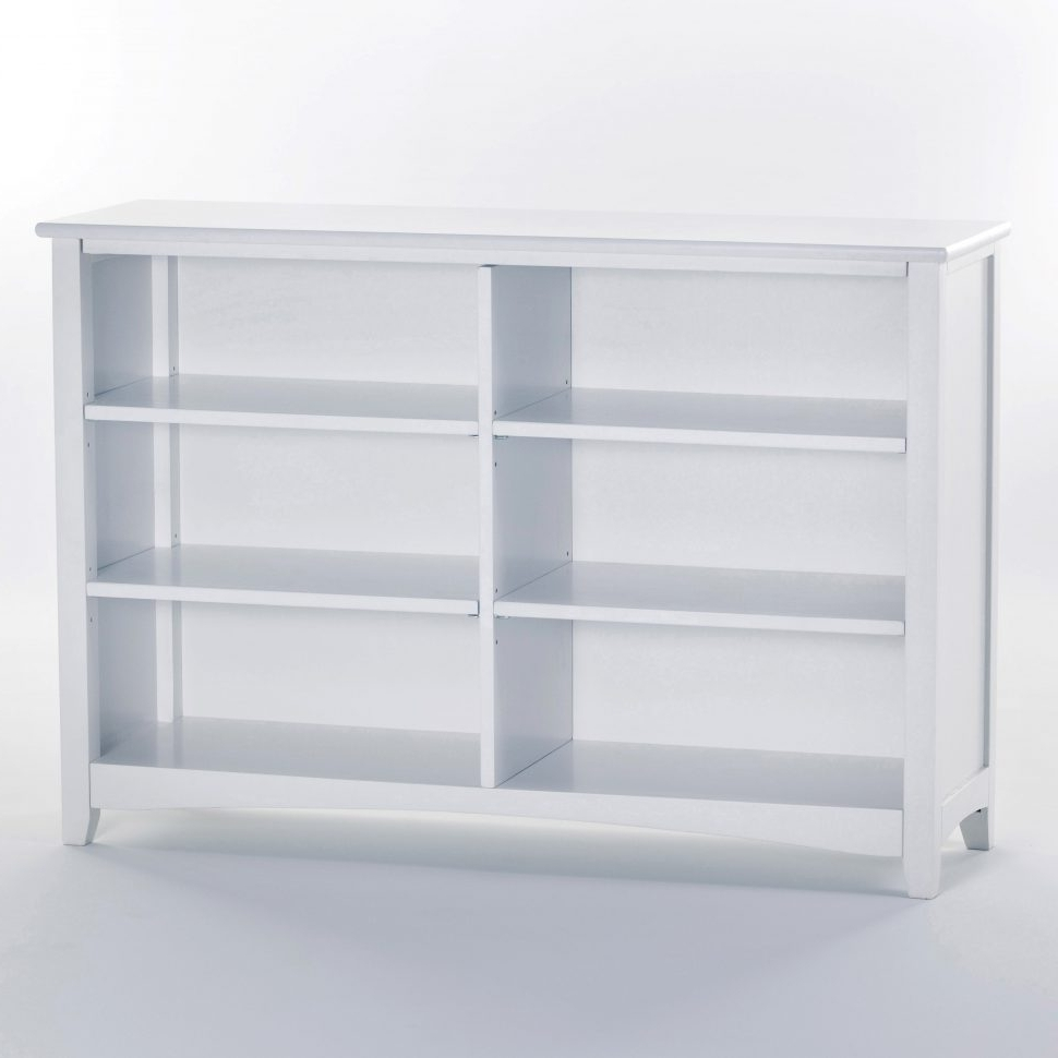Short Bookcases Inside Popular Furniture : Small Two Shelf Bookcase 25 Inch Wide Bookcase Tall (View 9 of 15)