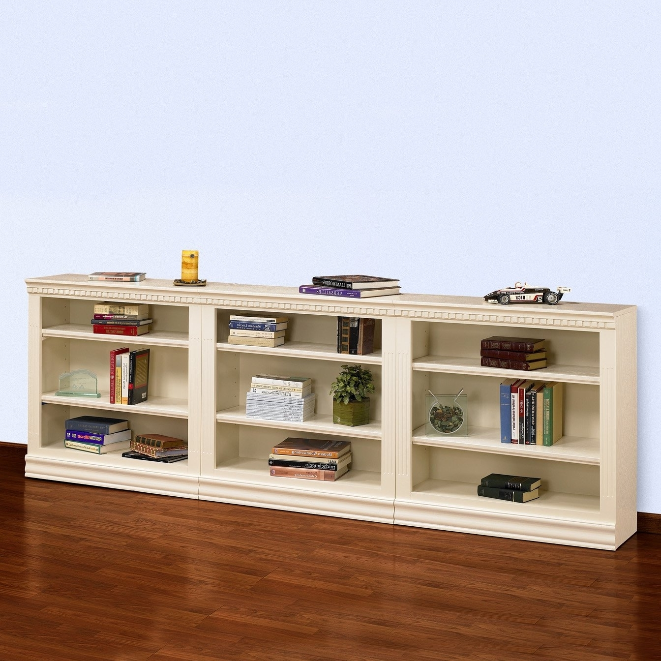Short Long Shelving Unit • Shelves Within Favorite Long Bookcases (View 2 of 15)