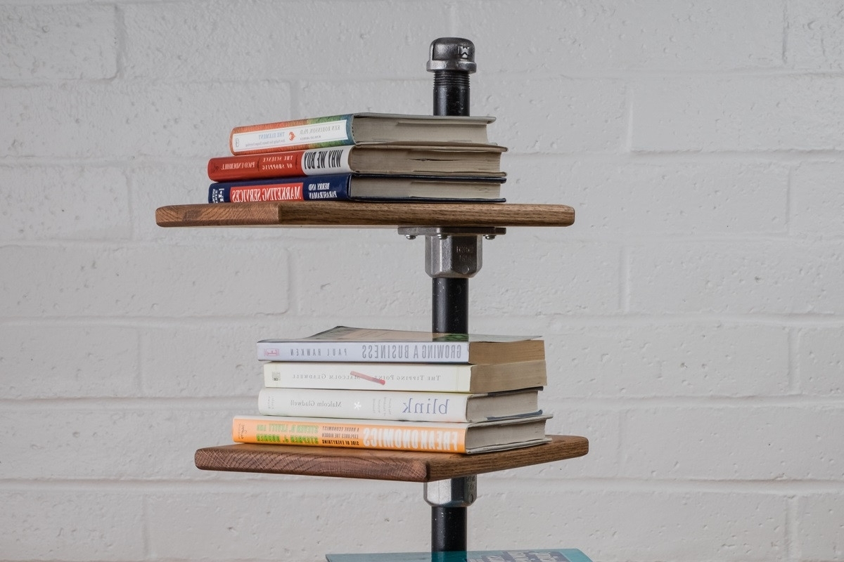 Simplified Building With Newest Free Standing Bookshelves (View 6 of 15)