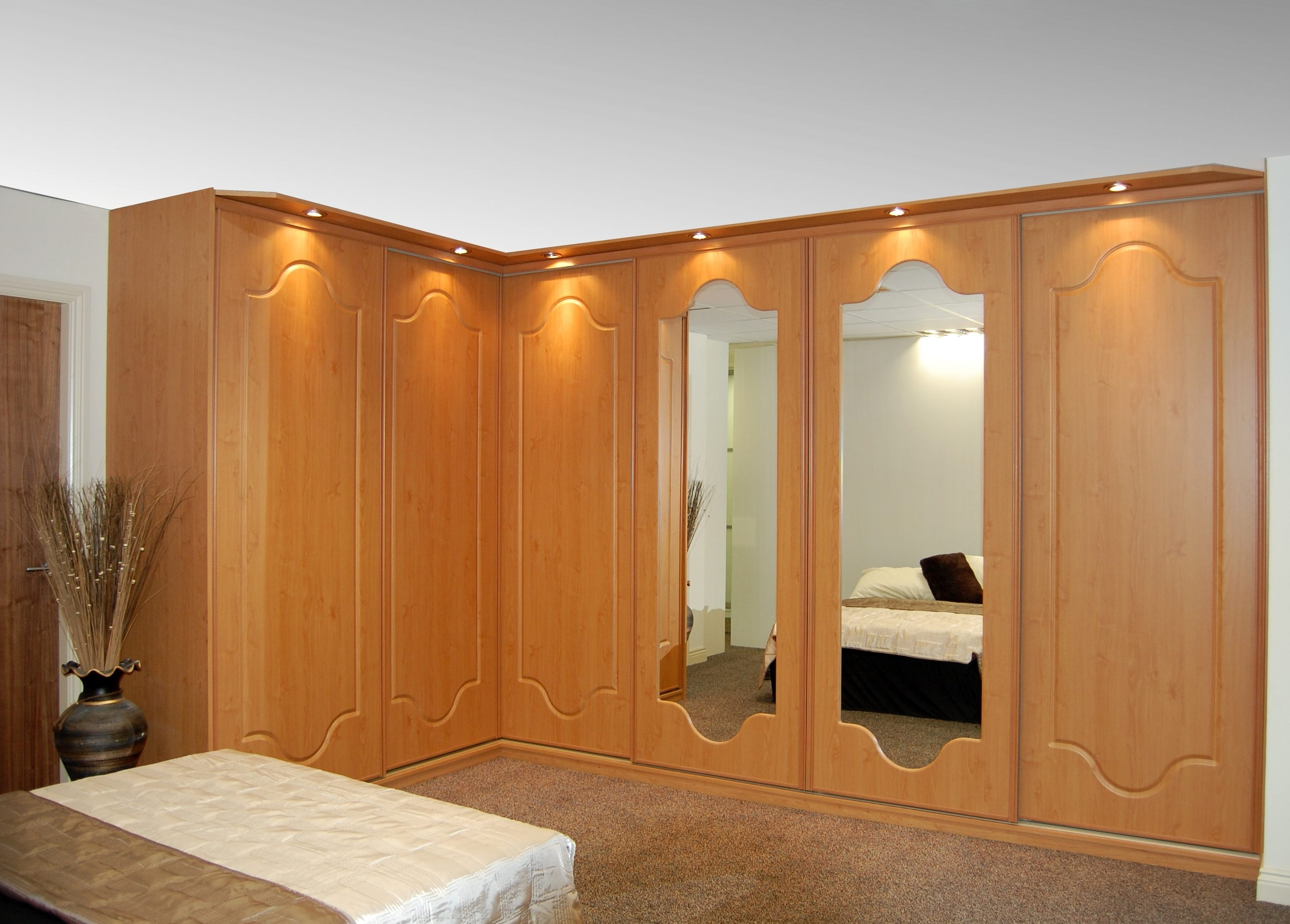Slideglide – Sliding Wardrobes And Storage Within Curved Corner Wardrobes Doors (View 14 of 15)