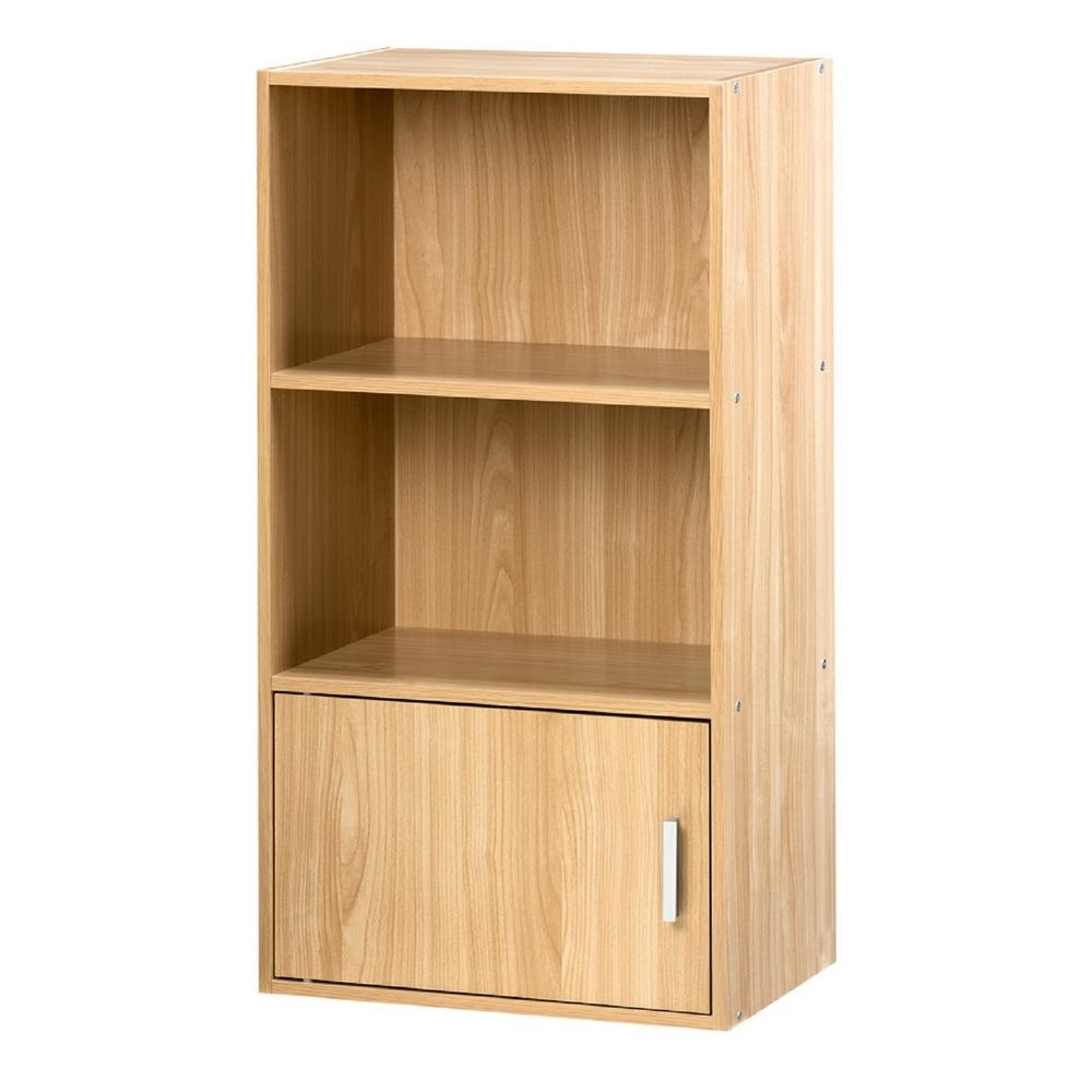 Small Bookcases With Regard To Widely Used Onespace Oak Small Bookshelf 50 6522Ok – The Home Depot (View 15 of 15)