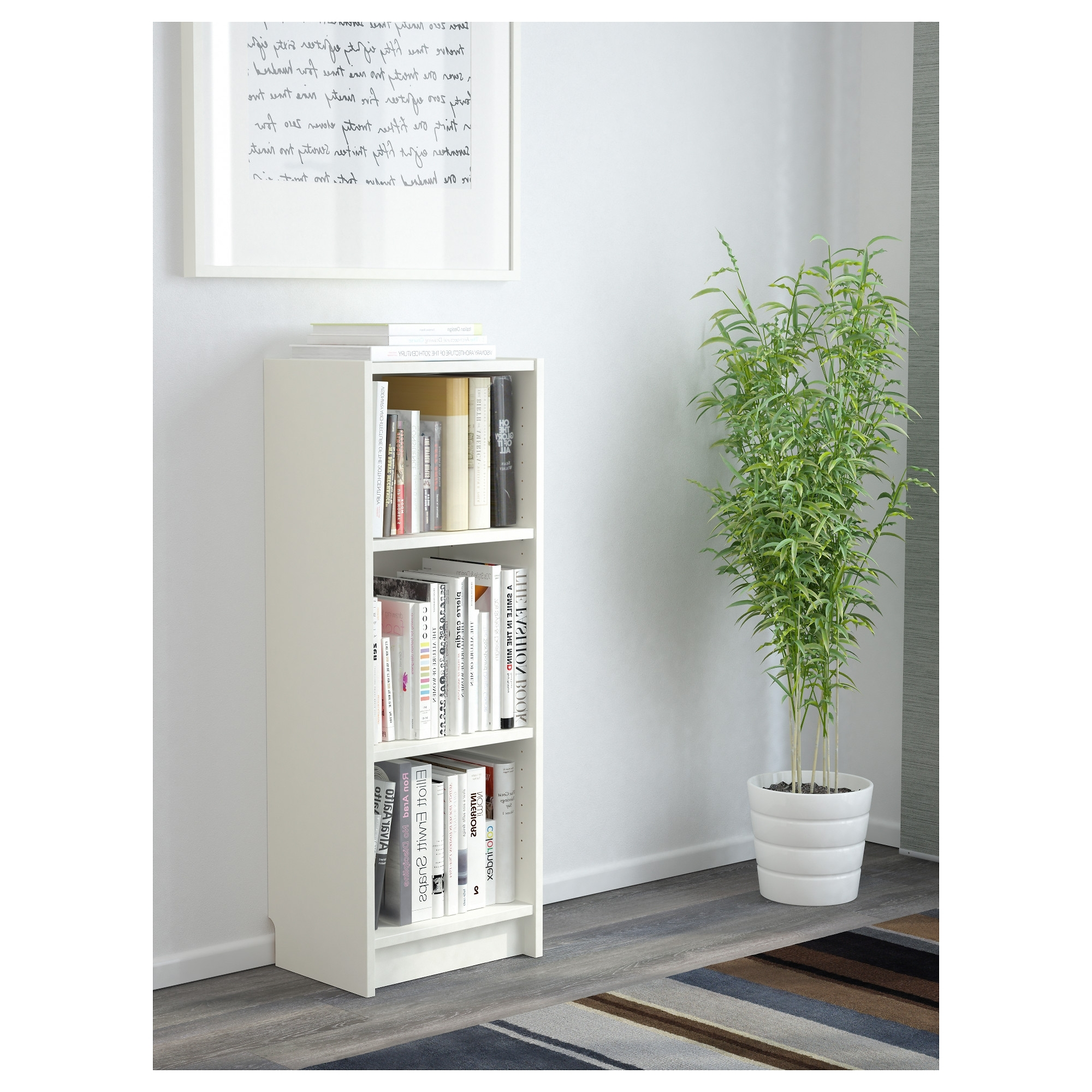 Small White Bookcases Regarding 2018 Billy Bookcase – White – Ikea (View 14 of 15)