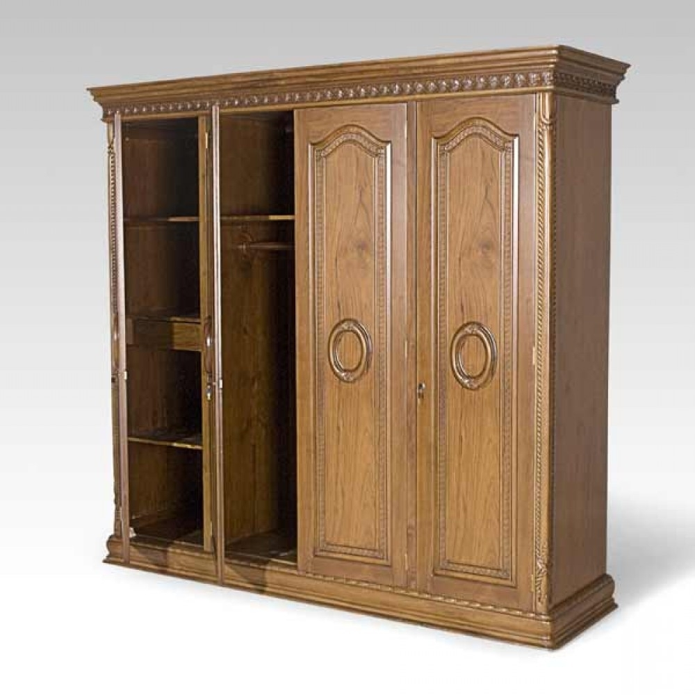 Solid Dark Wood Wardrobes Fitted Wardrobe Armoire Doors Sale You Within Most Current Solid Dark Wood Wardrobes (View 3 of 15)