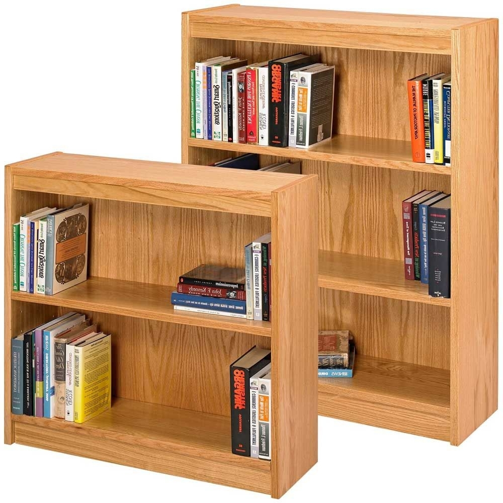 Solid Oak Bookcases With Regard To Recent Solid Oak Bookcase Plans Solid Oak Space Saving Bookshelves Solid (View 15 of 15)