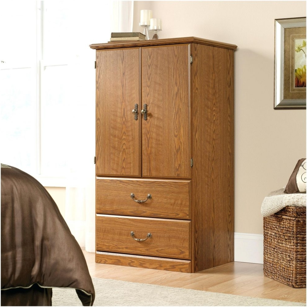 Solid Wood Wardrobe Armoire – Abolishmcrm Throughout Most Up To Date Solid Dark Wood Wardrobes (View 13 of 15)