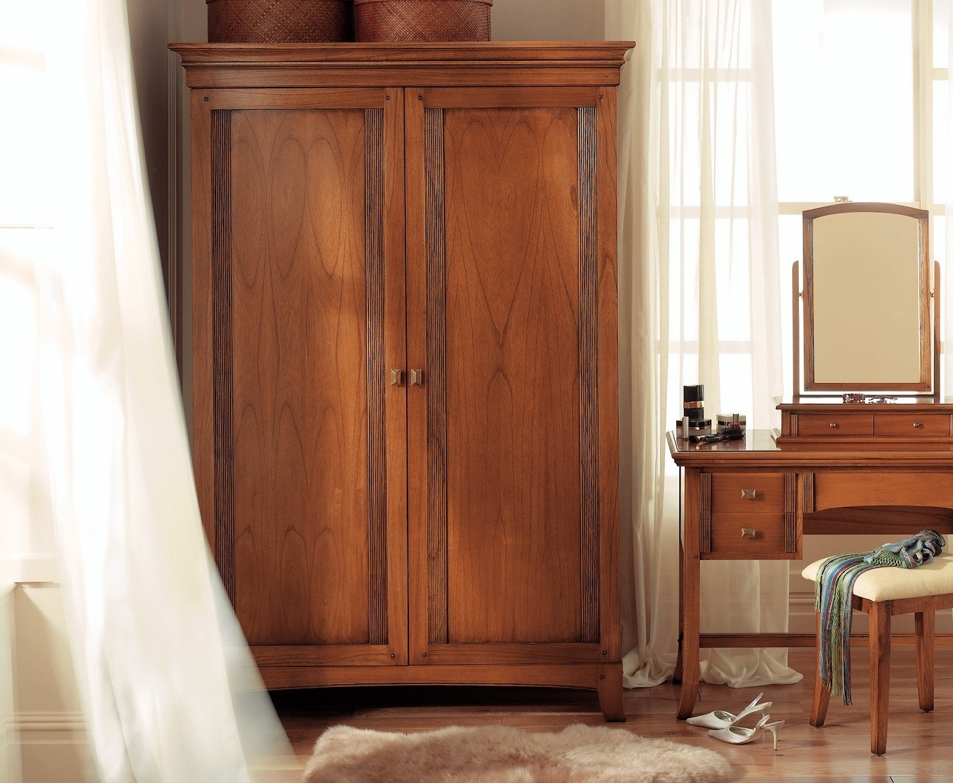 Solid Wood Wardrobe Closet Fitted Wardrobes Dark You Must See This Within 2017 Solid Dark Wood Wardrobes (View 8 of 15)