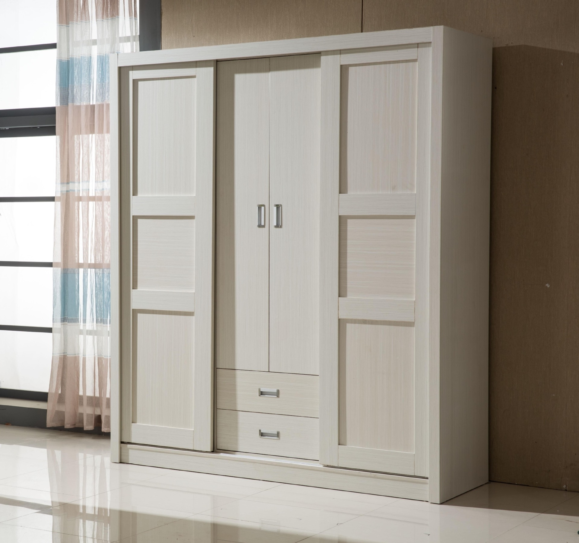 Solid Wood Wardrobe With Drawers Fitted Wardrobes Sliding Doors In Most Recent Large Wooden Wardrobes (View 13 of 15)