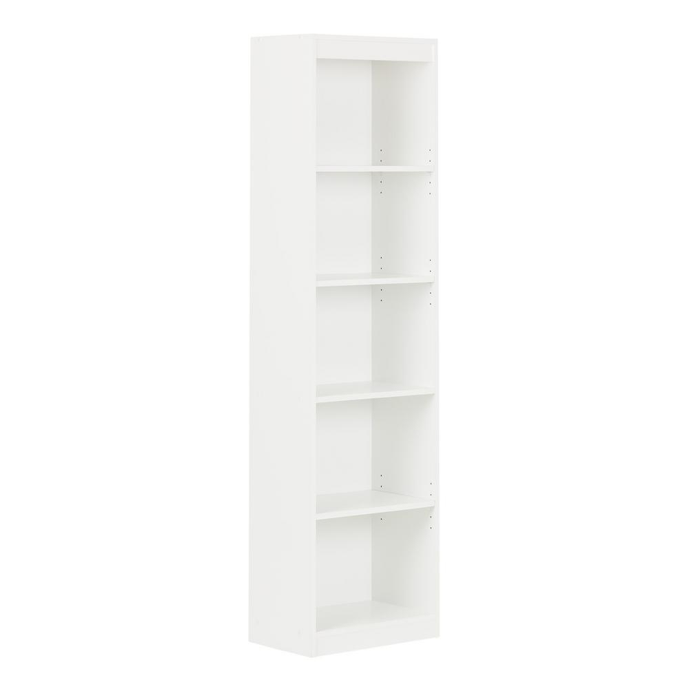 South Shore Axess 5 Shelf Bookcase In Chocolate 7259758 – The Home Throughout Best And Newest South Shore Axess Collection 5 Shelf Bookcases (View 8 of 15)