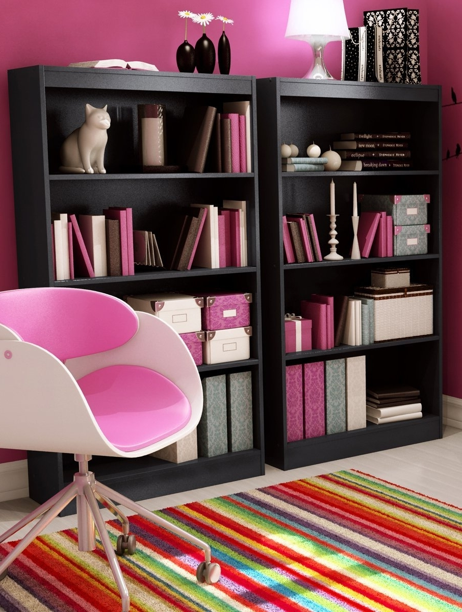 South Shore Bookcase Best Pink : Doherty House – South Shore Bookcase Regarding Popular South Shore Bookcases (View 15 of 15)