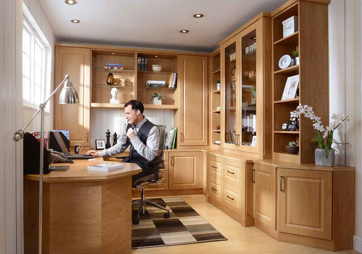 Spacemaker Bedrooms – Fitted Bedrooms, Home Offices And Bathrooms Throughout Well Known Fitted Study Furniture (View 15 of 15)