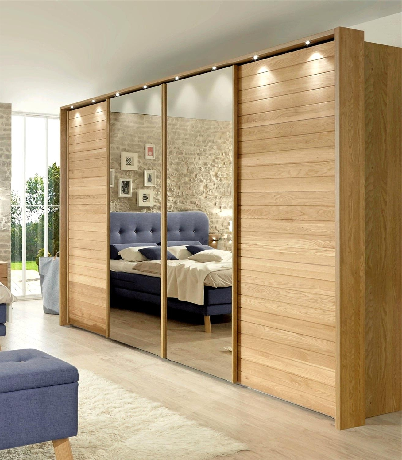 Splendid Sliding Door Wardrobe Slim Wardrobes With Sliding Doors Intended For Widely Used Sliding Door Wardrobes (View 14 of 15)