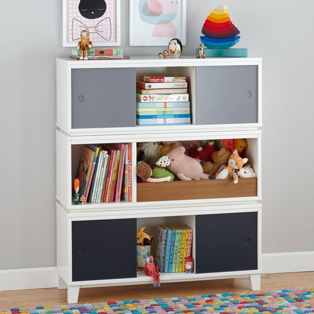 Storage Bookcases Throughout Favorite Bookcase 34+ Beautiful And Toy Storage Photo Design Box Combo (View 7 of 15)