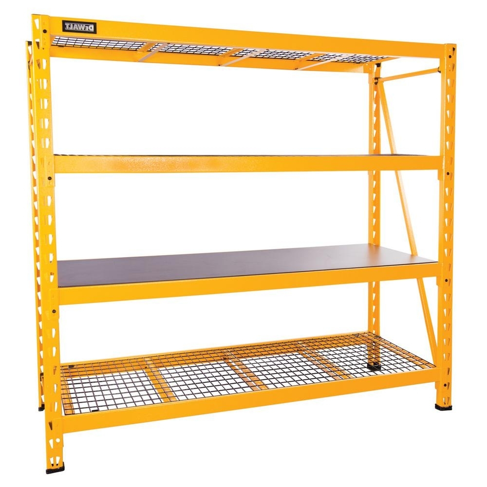 Storage Shelving Units For Newest Garage Shelves & Racks – Garage Storage – The Home Depot (View 7 of 15)