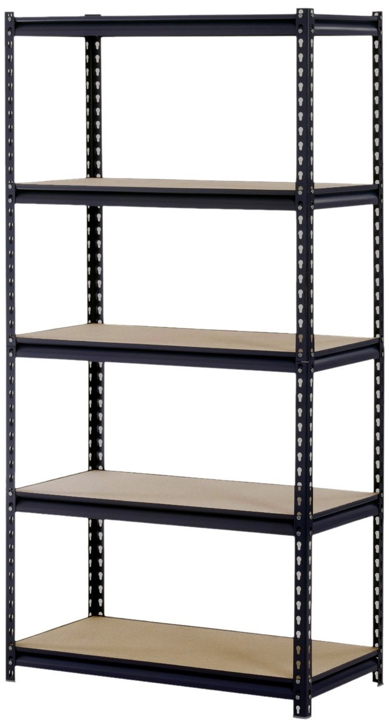 Storage Shelving Units Pertaining To Preferred Shelves Outstanding Storage Shelving Units Lowes High Toned Steel (View 9 of 15)
