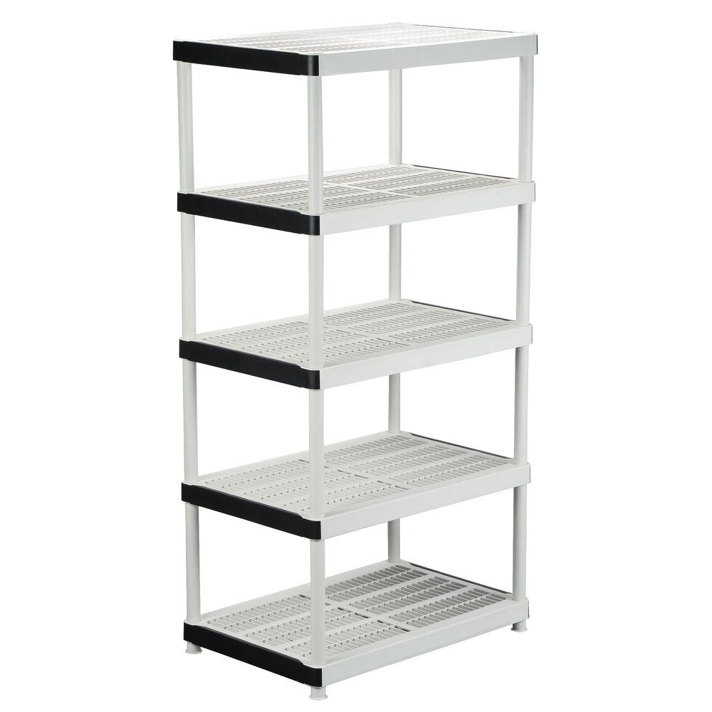 Storage Shelving Units With Regard To Popular Hdx 72 In. H X 36 In. W X 24 In (View 11 of 15)