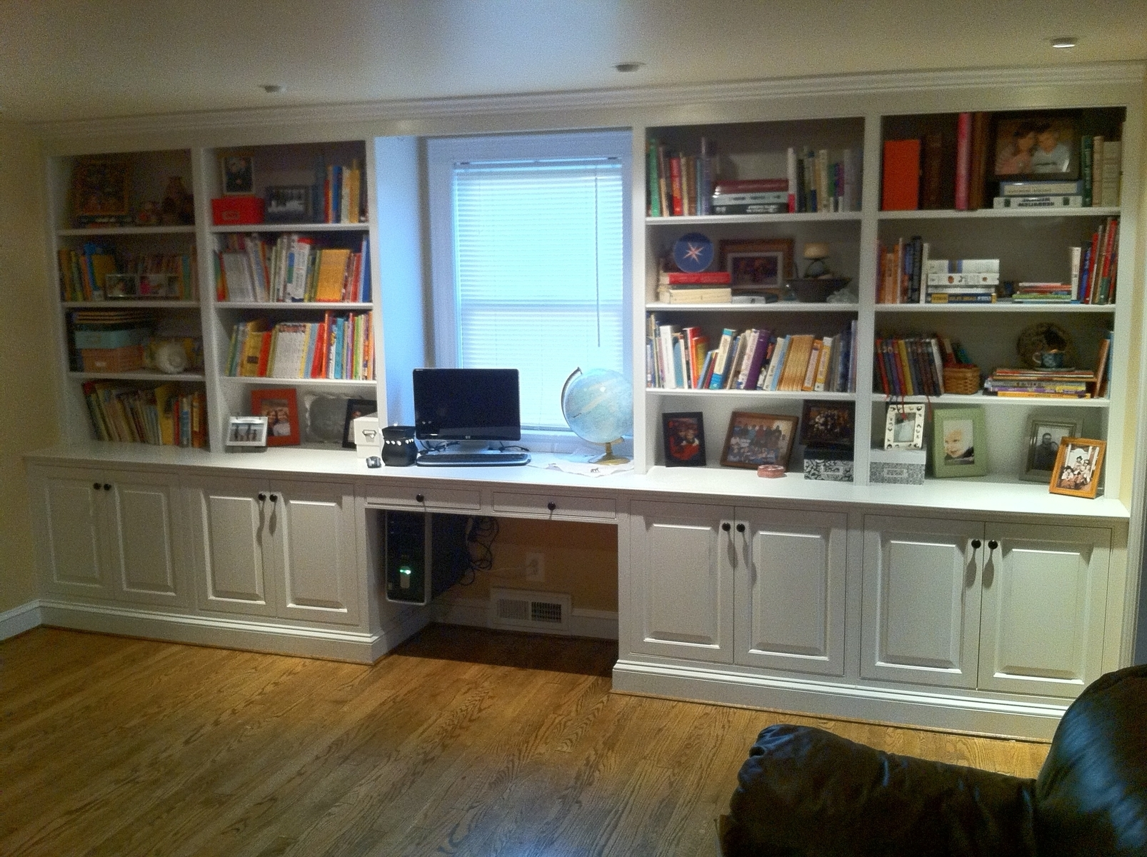 Study Bookshelves Intended For 2017 Large White Wooden Bookshelves With White Wooden Doors Plus Study (View 11 of 15)