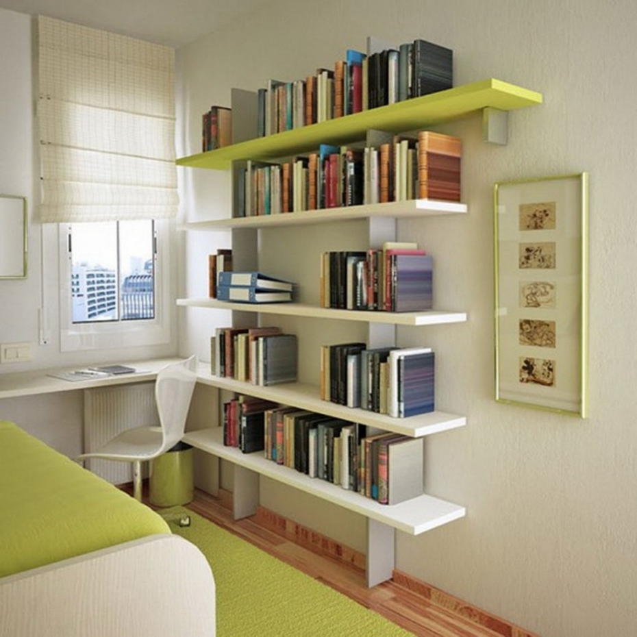 Study Bookshelves Regarding Most Current Bookshelves With Study Table Design, Interior Alluring Study Room (View 6 of 15)