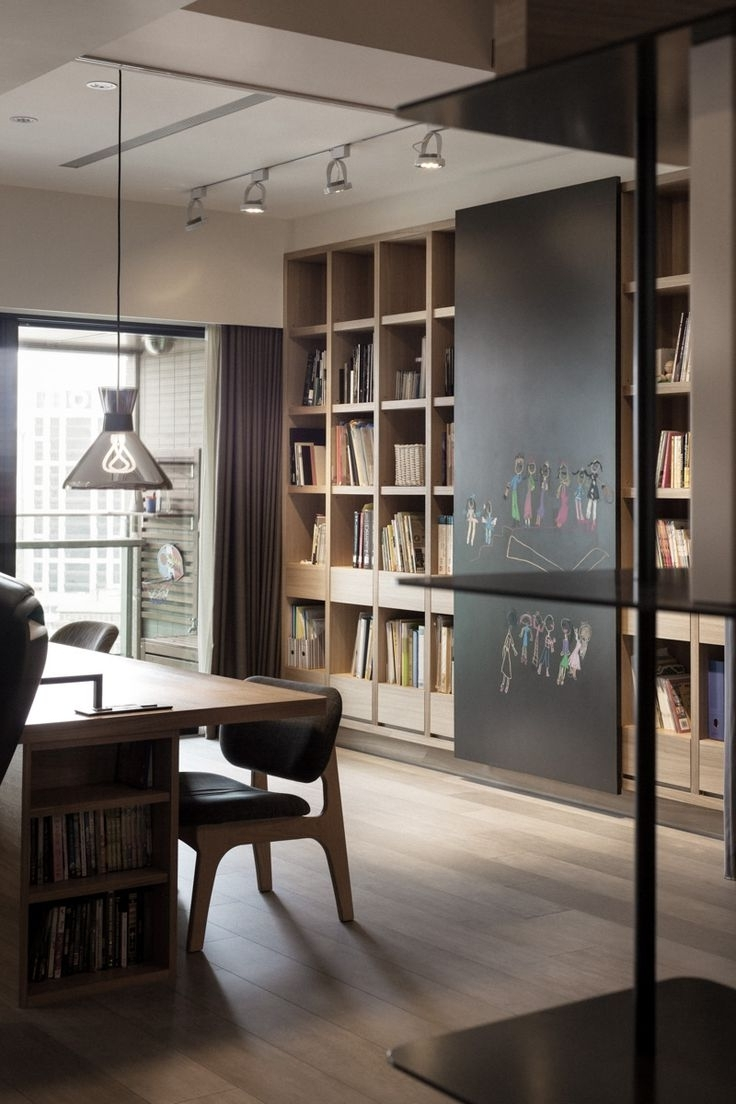 Study Cupboard Designs Regarding Well Liked Best 25+ Study Room Design Ideas On Pinterest (View 13 of 15)