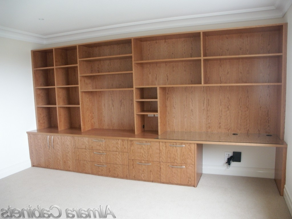 Study Wall Unit Designs For Trendy Dcf  (View 8 of 15)