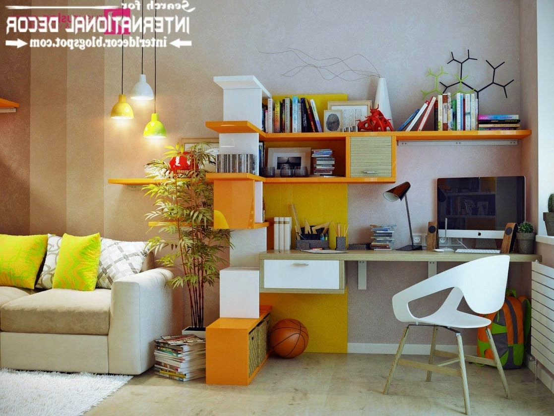 Study Wall Unit Designs Within Famous Cool Study Wall Unit Designs Best Images About Tables On Table (View 11 of 15)