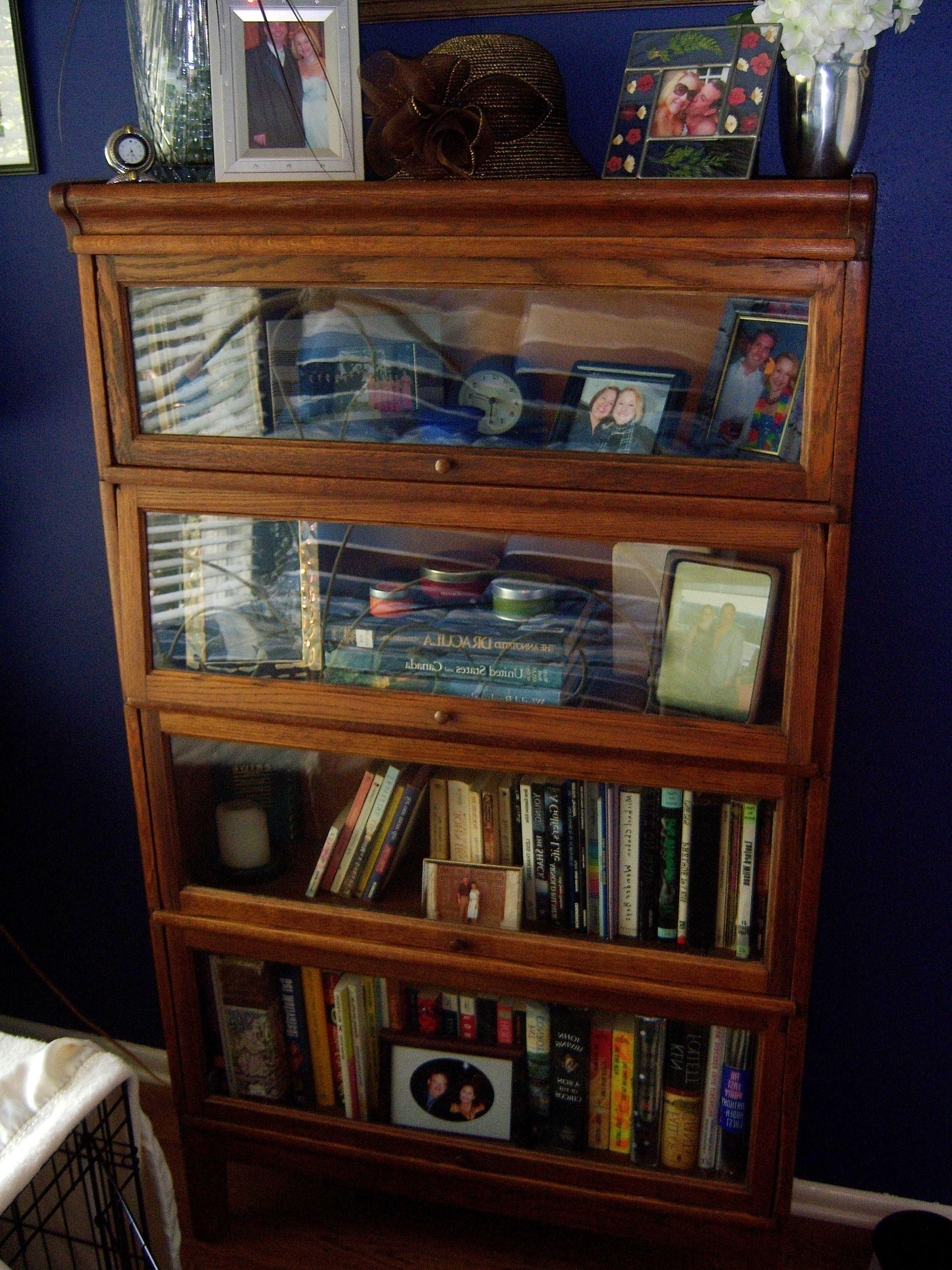 heals in and arts crafts golden bookcase lower bookcases by antique for bookshelves oak at globe barrister sale