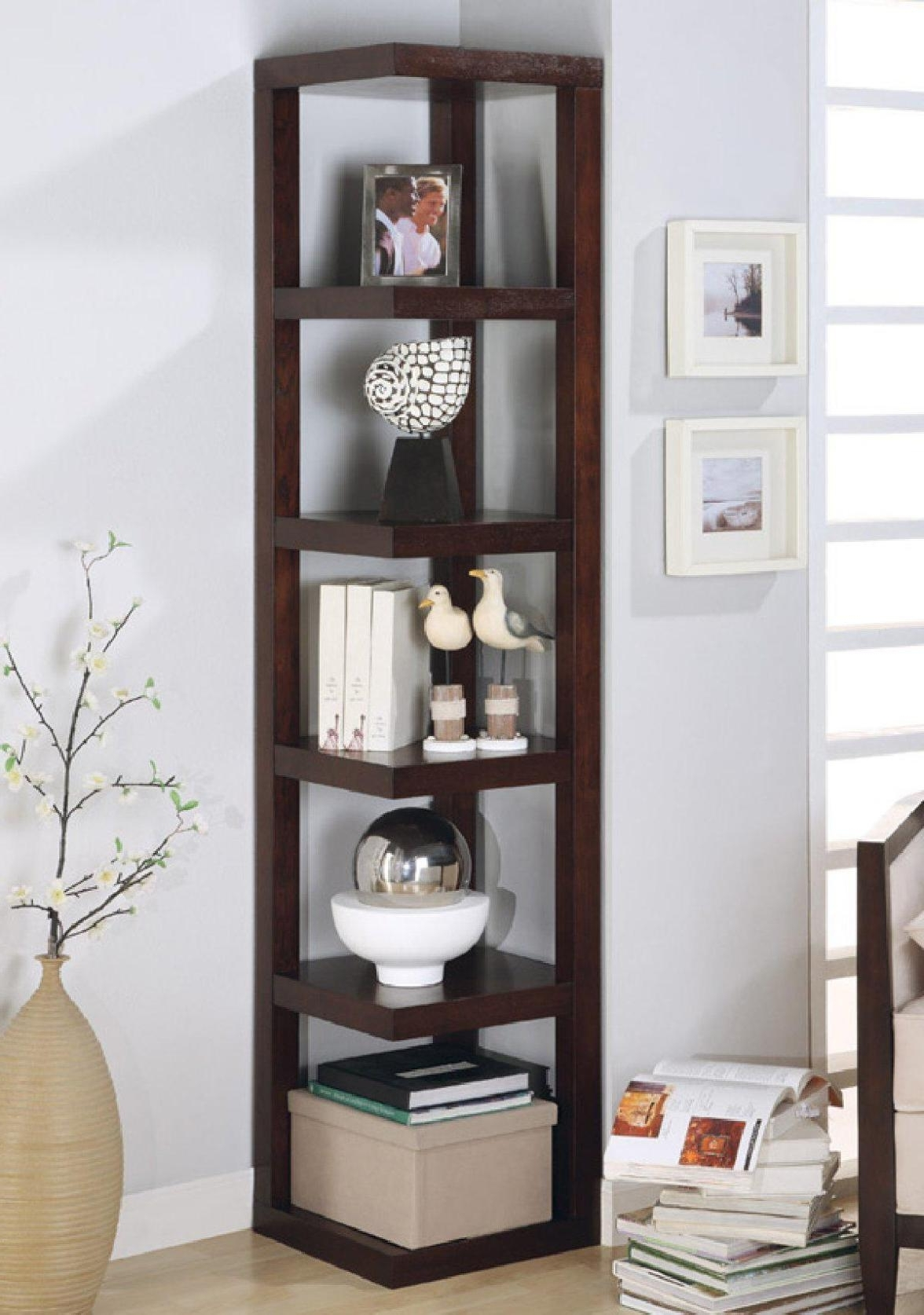 Tall Narrow Bookcases Ideas : Doherty House – Tall Narrow Bookcase With Preferred Narrow Bookcases (View 8 of 15)