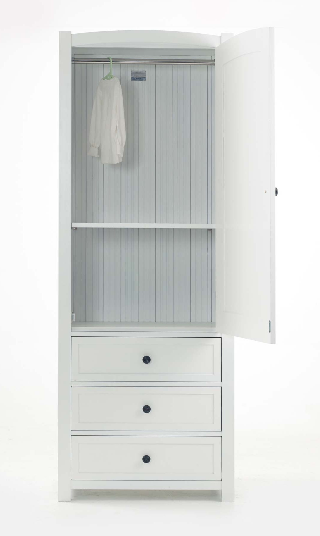Featured Photo of Single Wardrobes With Drawers And Shelves