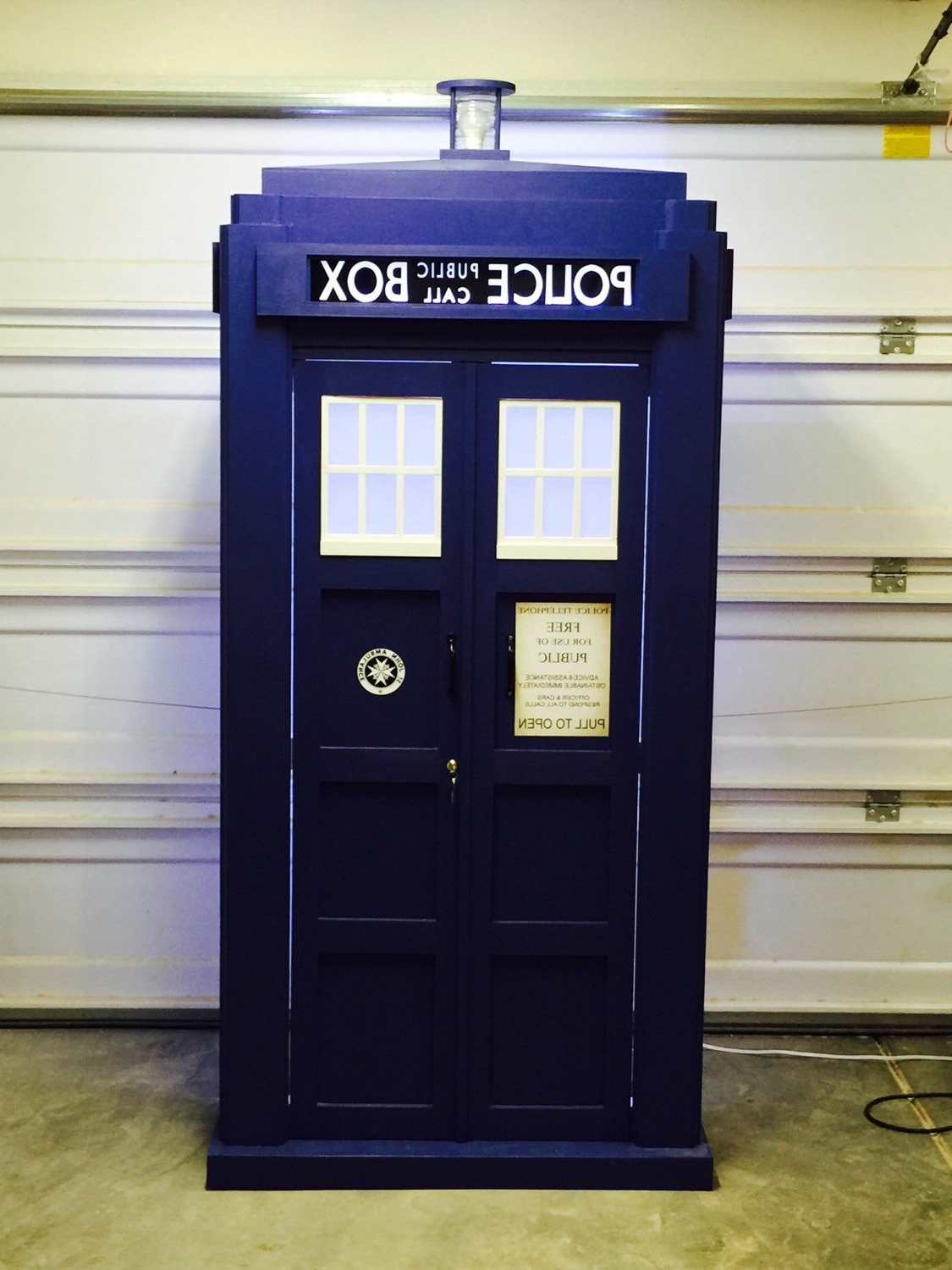 Tardis Bookcases In Well Known Blue Police Bookshelf 04 Tardis Bookcase 2017 Looking For Tardis (View 15 of 15)
