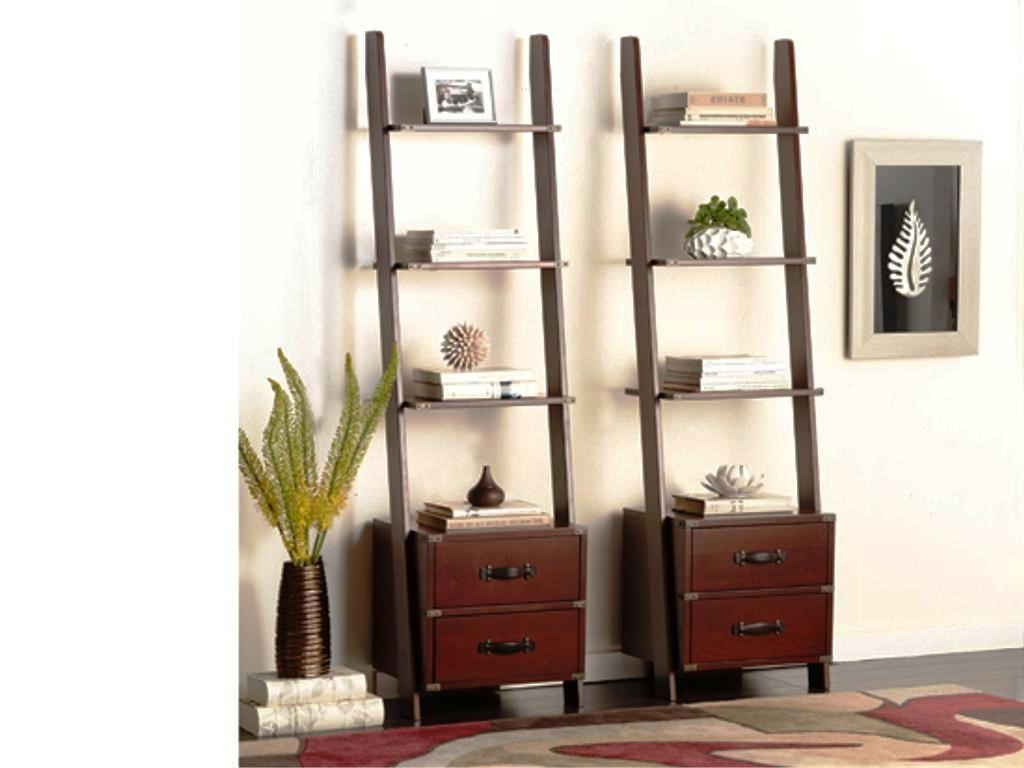Target Leaning Bookcases With Newest Leaning Ladder Shelving At Target — Best Home Decor Ideas (View 2 of 15)