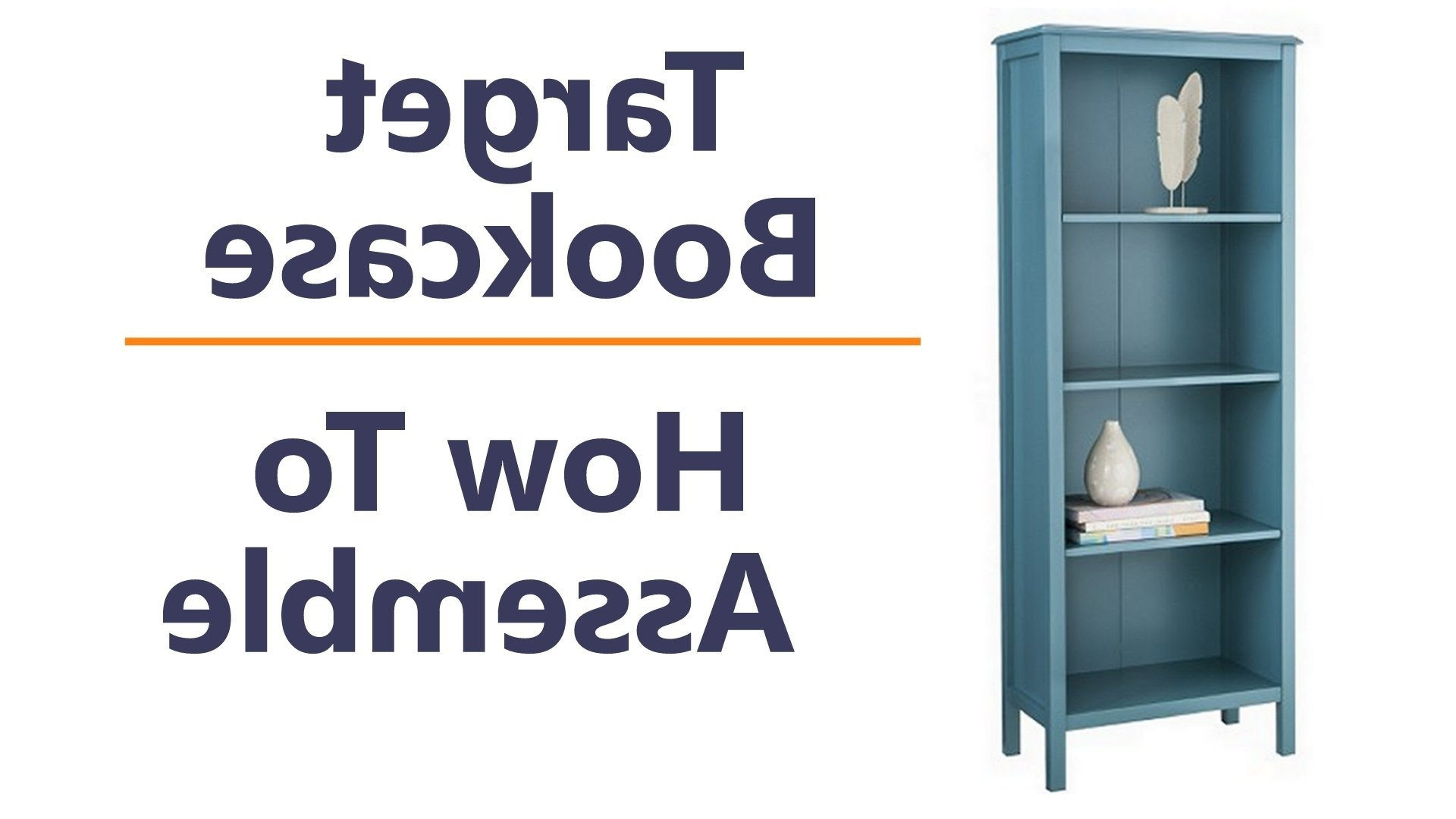 Target Threshold Windham Shelf Bookcase – How To Assemble And Tips Pertaining To Widely Used Threshold Bookcases (View 14 of 15)