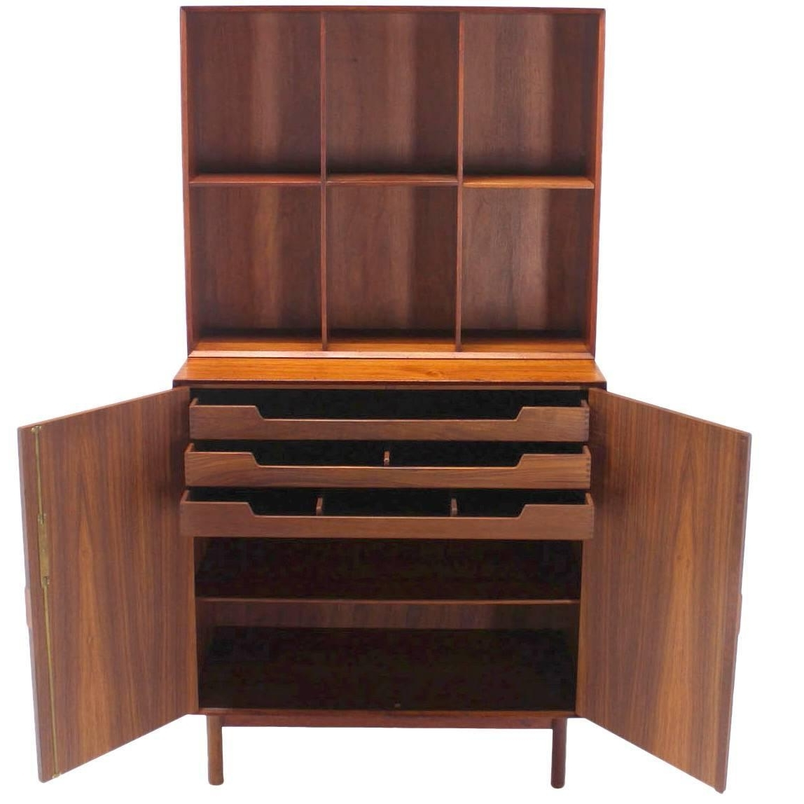Teak Bookcasespeter Hvidt For Soborg For Sale At 1stdibs Throughout Widely Used Teak Bookcases (View 11 of 15)