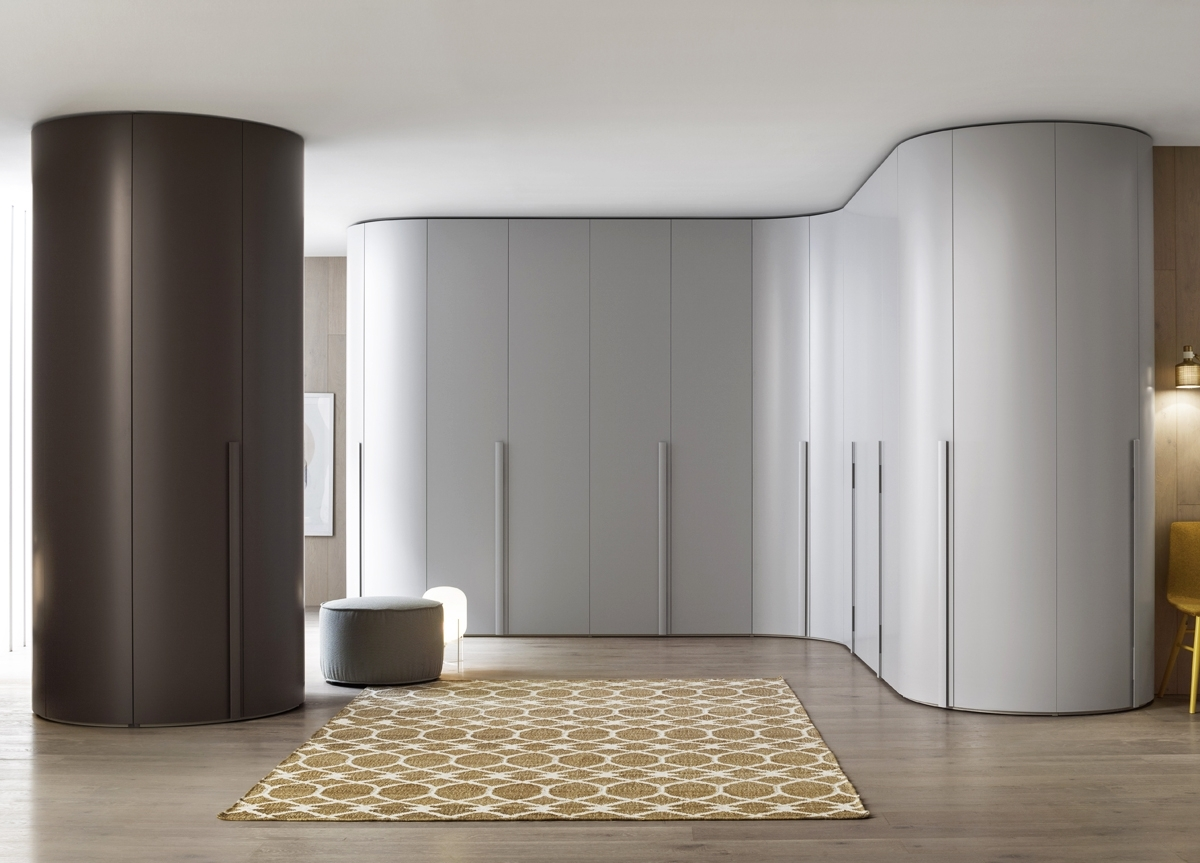 Featured Photo of Curved Corner Wardrobes Doors