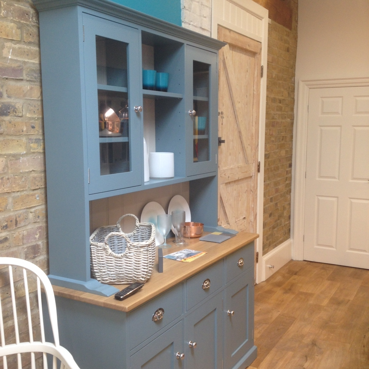 The Croft #dresser In The Chiswick Kitchen Showroom (View 13 of 15)