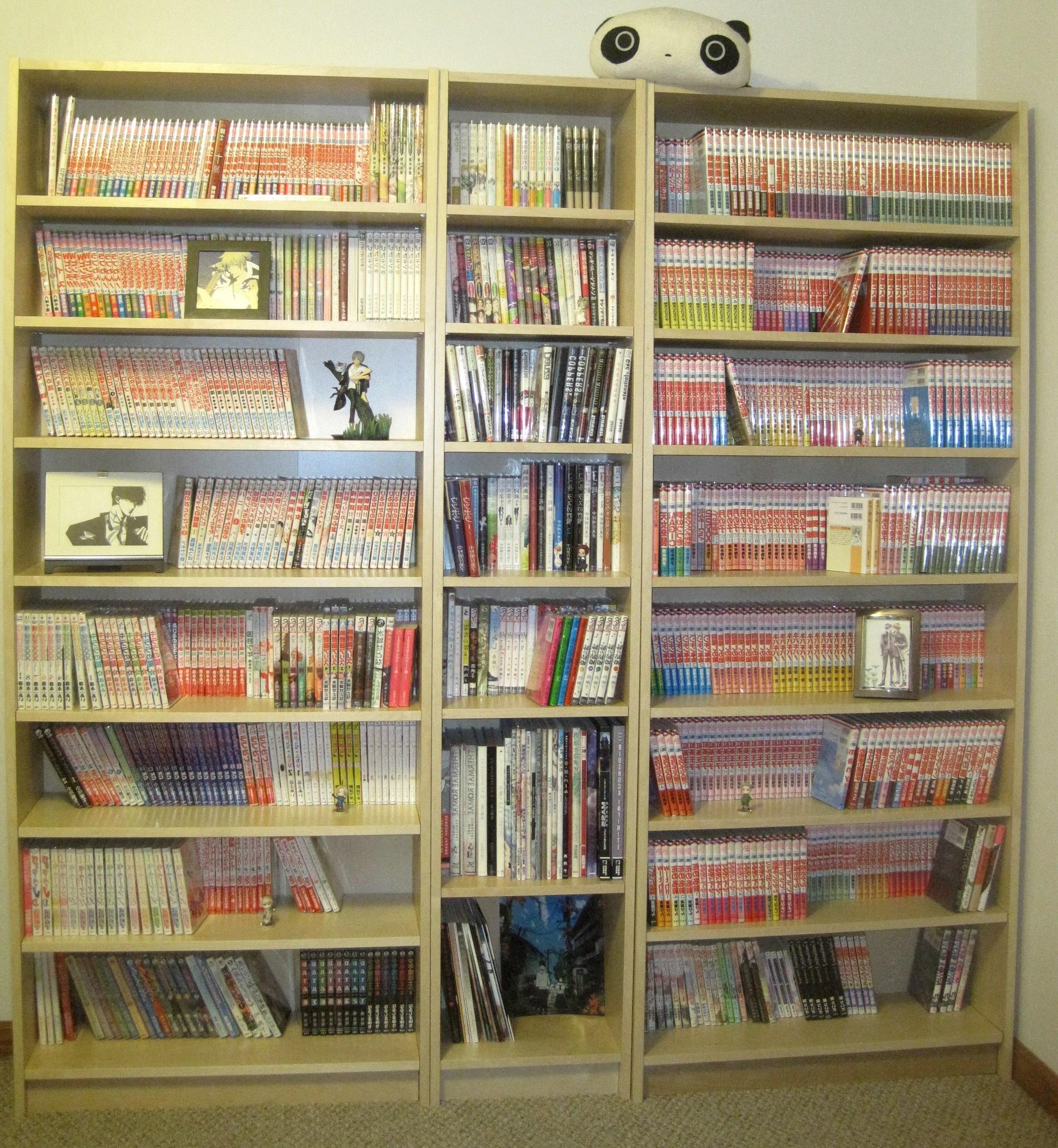The Manga Habit Inside Huge Bookshelves (View 14 of 15)