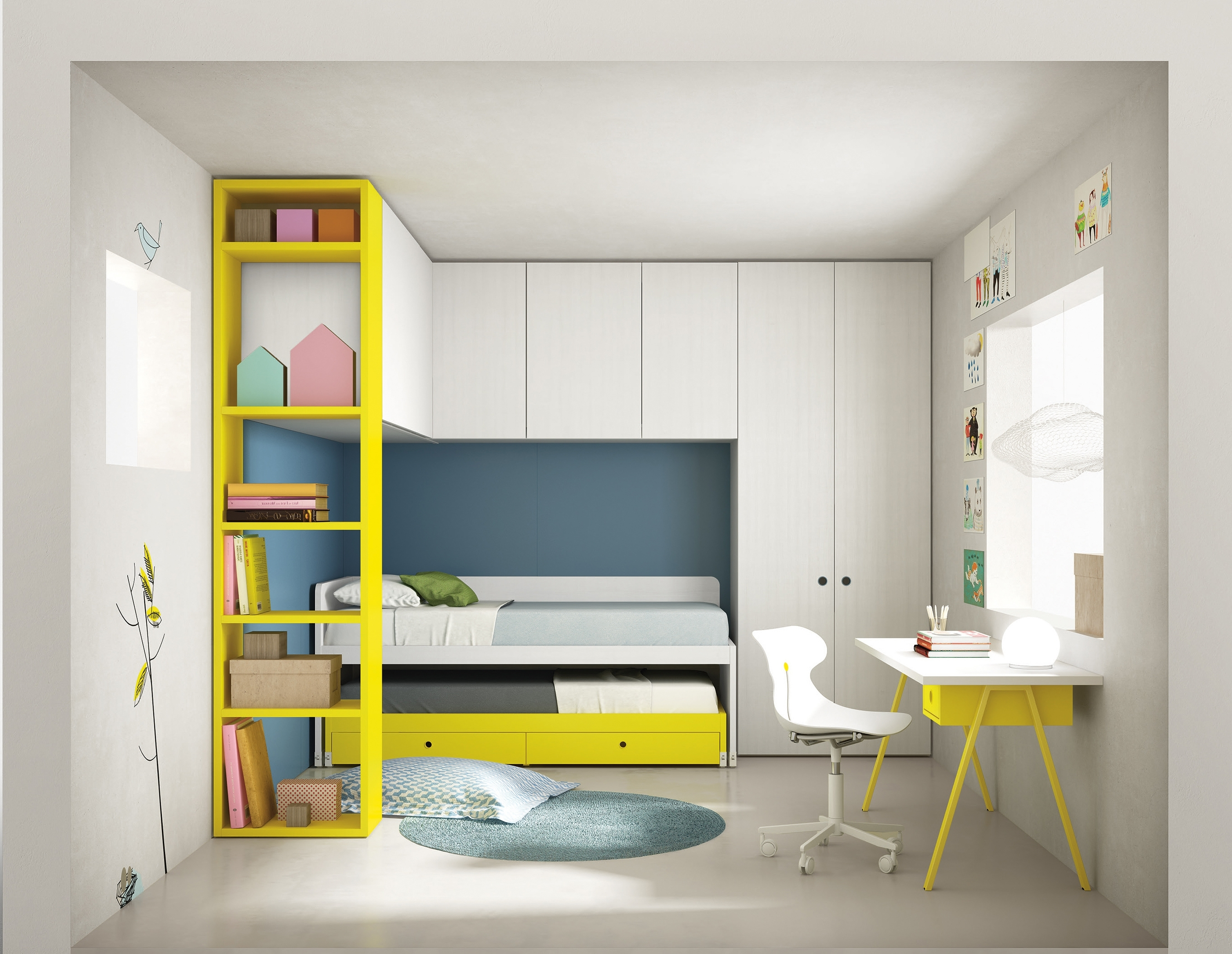 The New Nidi Range Of Children's Bedroom Furniture – Great Storage With Regard To Well Liked Childrens Bedroom Wardrobes (View 11 of 15)