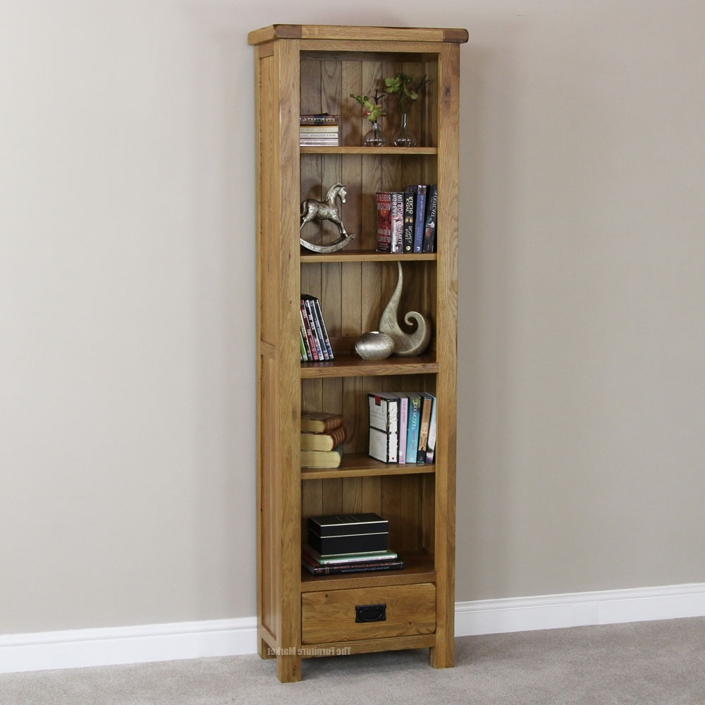 Thin Bookcases With Well Known Narrow Bookcase With Drawers : Doherty House – Fabulous Ideas (View 2 of 15)