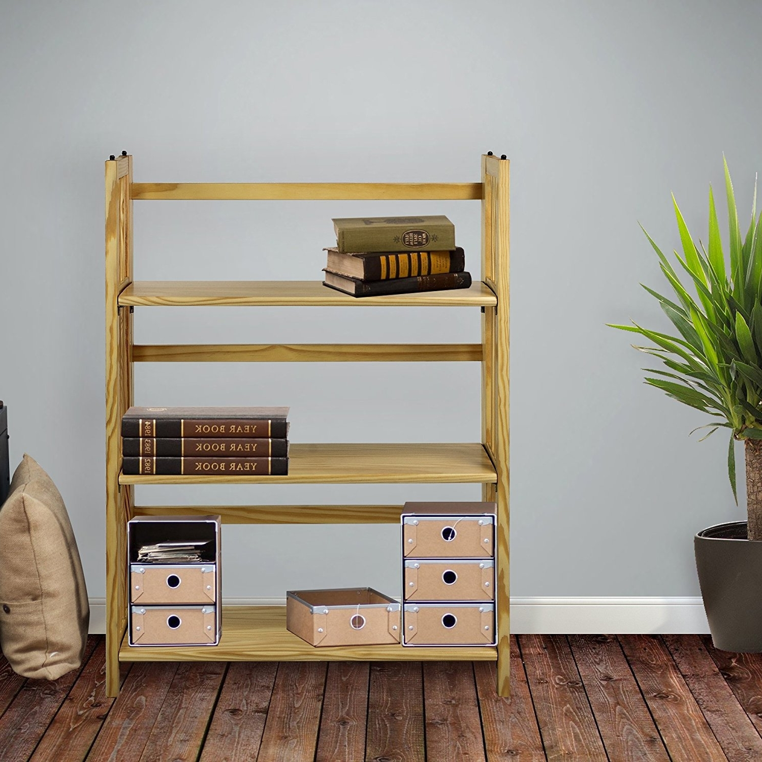 Top 13 Folding Bookcases And Bookshelves Of 2017 For Your Home Within Well Known Foldable Bookcases (View 14 of 15)